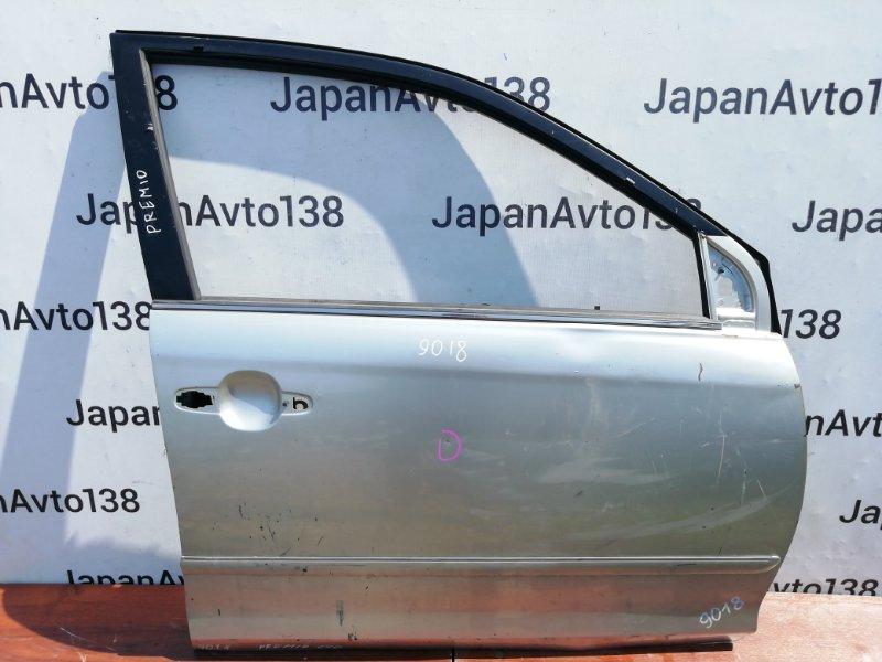 дверь TOYOTA PREMIO ZZT240 1ZZ-FE 2001-2007 передний правый
