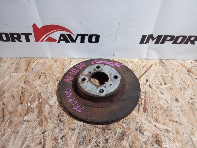 диск тормозной TOYOTA SPRINTER TRUENO AE111 4A-FE  передний