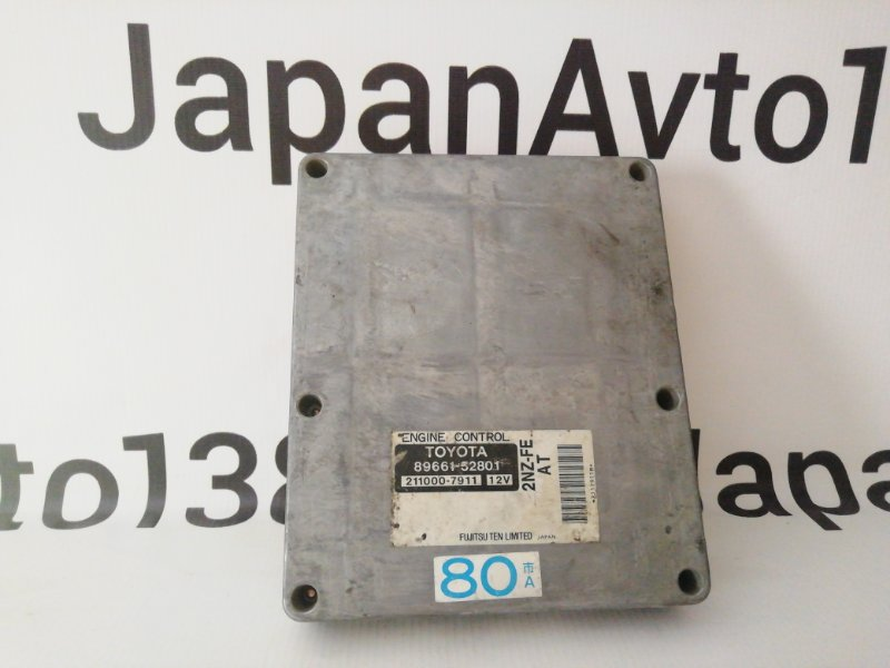 блок управления двигателя TOYOTA BB NCP30 2NZ-FE 2000-2003