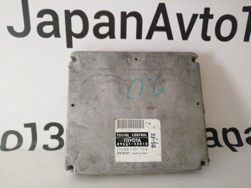 блок управления двигателя TOYOTA HARRIER SXU10 5S-FE 1997-2000