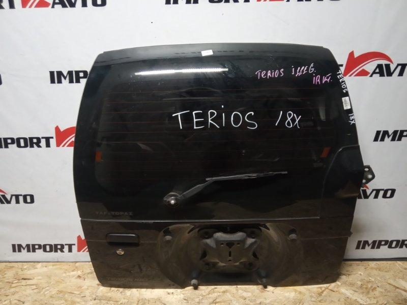 дверь 5-я DAIHATSU TERIOS J111G EF-DET