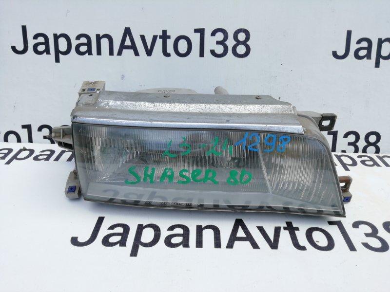 фара TOYOTA CHASER GX81 1G-GE 1990-1992  правый