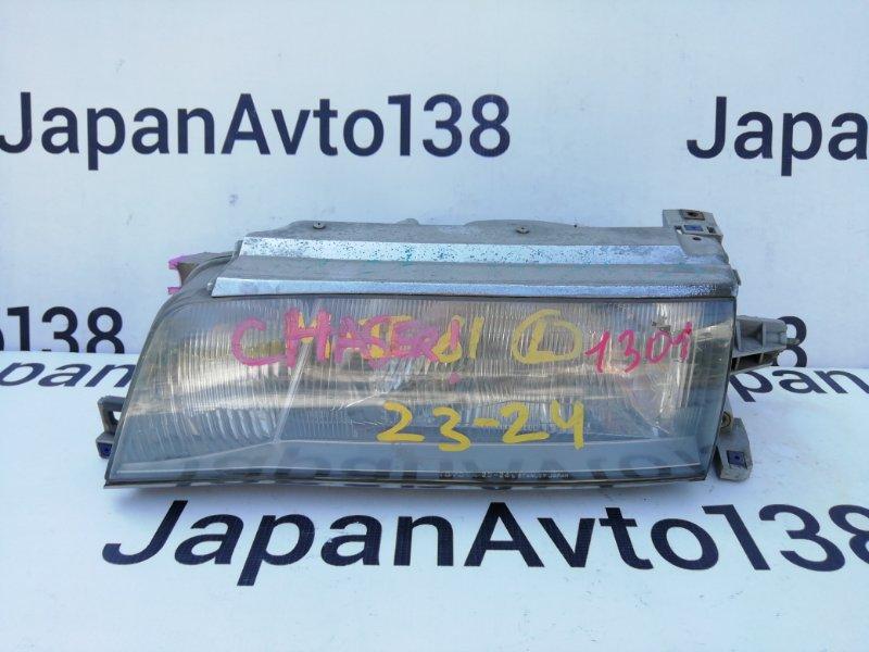 фара TOYOTA CHASER GX81 1G-GE 1990-1992  левый