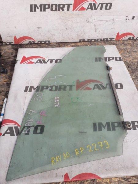 стекло двери TOYOTA RAV4 ACA31 2AZ-FE 2005-2008 передний правый
