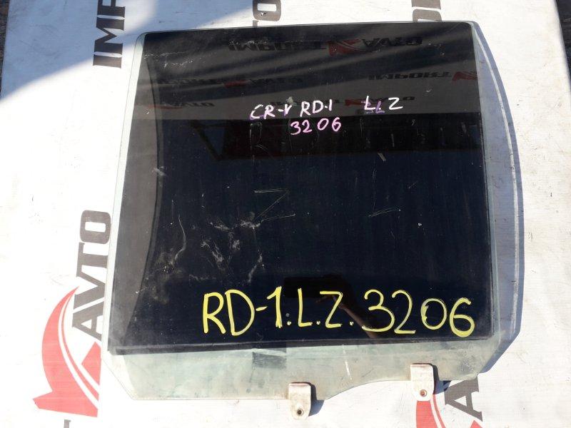стекло двери HONDA CR-V RD1 B20B 1995-2001 задний левый