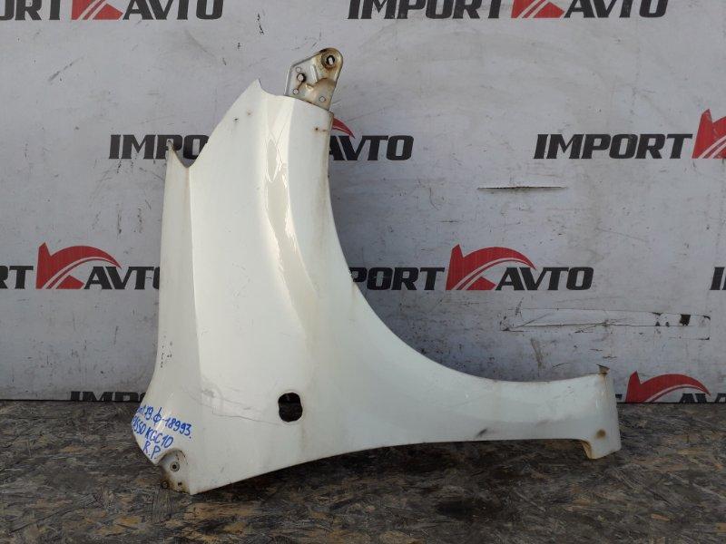 крыло TOYOTA PASSO KGC10 1KR-FE 2004-2010 передний правый