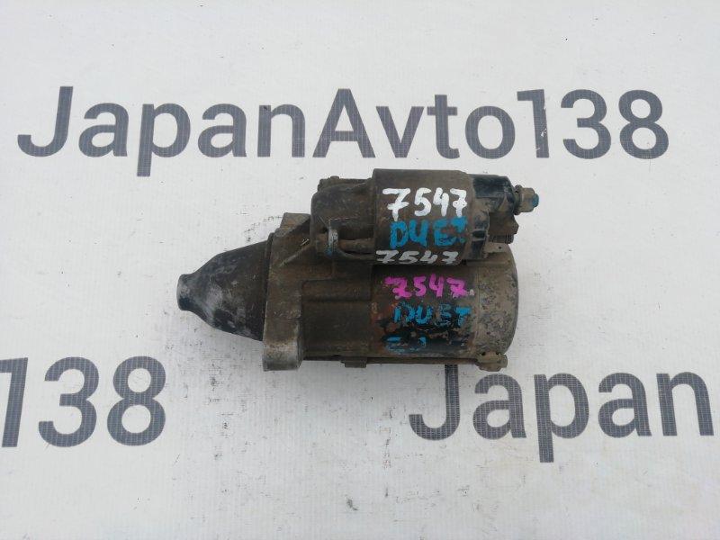 стартер TOYOTA DUET M100A EJ-VE 1998-2004