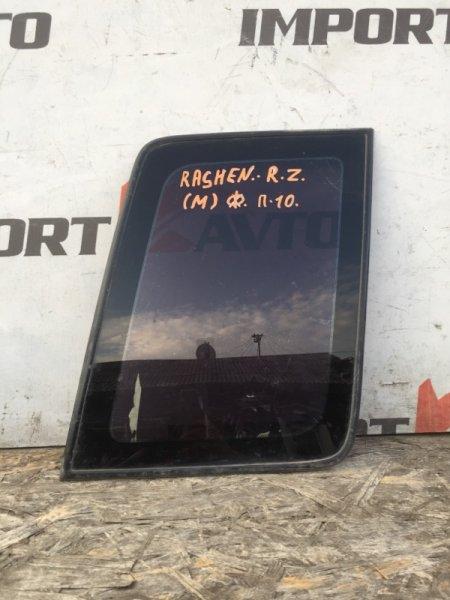 стекло собачника NISSAN RASHEEN RHNB14 SR18DE 1994-2000 задний правый