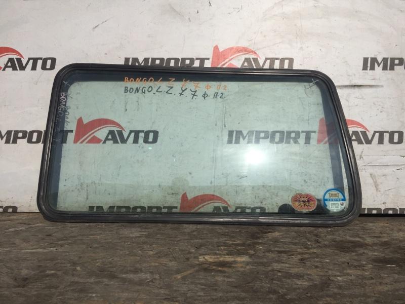 стекло собачника MAZDA BONGO SK22V R2 1999-2010 задний левый