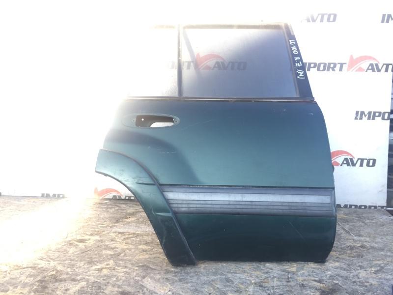 дверь TOYOTA LAND CRUISER HDJ101 1HD-FTE 1998-2005 задний правый